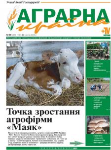 газета АГРАРНА КРАЇНА, разработка логотипа и макета газеты