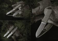 Сьемка ножей ручной работы