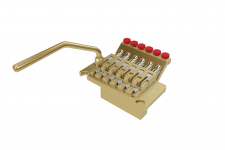 3D & AR model - Bridge guitar (golden)