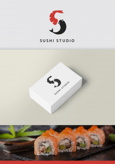 Логотип суши