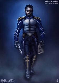 Defender. Character Concept Art.