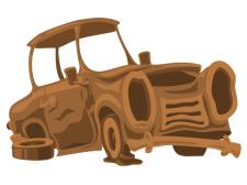 Заброшенная машина