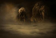 Медведь в облаках