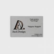 Візитка And.Design