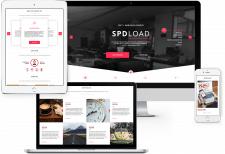 Дизайн корпоративного сайта для software компании