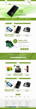 Магазин (верстка и натяжка на OpenCart)