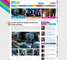 MagBlog — многостраничный сайт-блог