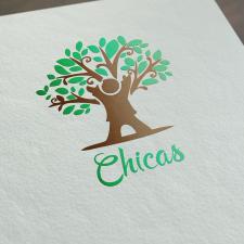 Логотип для клуба раннего развития Chicas