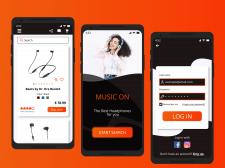 Приложение для продажи наушников (Android)