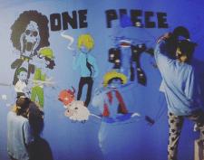 Розпис стін у стилі аніме