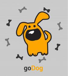 """Логотип приложения """"goDog"""""""