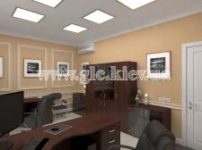 Офис в Москве. Рабочая комната