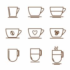 Иконки для кофейни