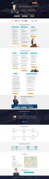 Landing Page юридических услуг адвоката