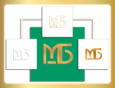Двубуквенный именной логотип