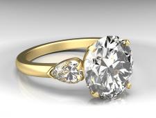 Кольцо с камнем2