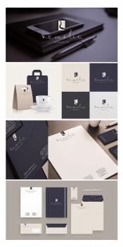 логотип и фирменный стиль для Romeleo