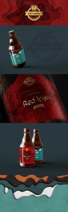 Этикетка крафтового пива