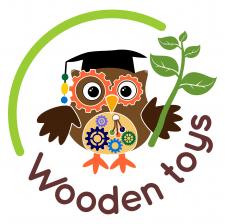 Логотип для магазина деревянных игрушек