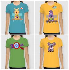 Принты для футболок (female)