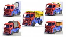 Модель грузовика_2 с разными кузовами