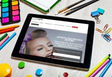 Landing Page для косметической компании