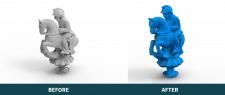 Оброблення 3Д сканів