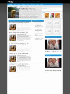 Веб-дизайн для фирменного блога