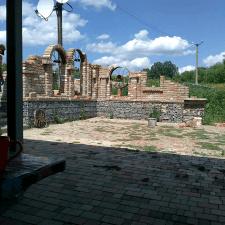Декоративные руины, процесс