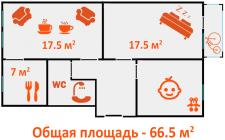 план квартиры №3
