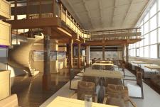 Проект кафе Кораблик