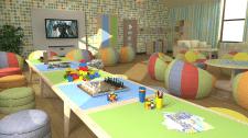 Визуализация помещений частной школы