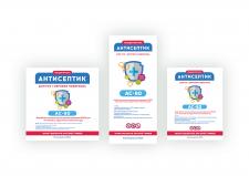 Этикетка/Наклейка для Антисептика