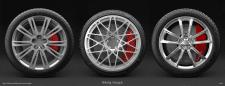 Car titanium discs
