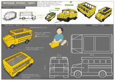 Дизайн-концепция детской игрушки / иллюстрация