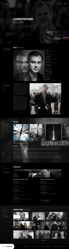 Christopher Nolan (works\about) art work