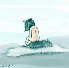*зимний пруд*