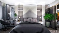 Спальня з гардеробною