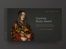 Премия Гремми | Билли Айлиш | Концепция сайта
