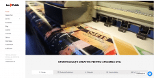 Веб сайт для типографии