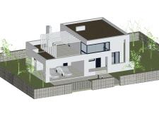 Проект  сучасного будинку.Бетон.