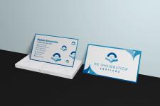 Дизайн простой визитки