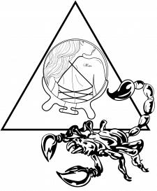 Векторный эскиз тату