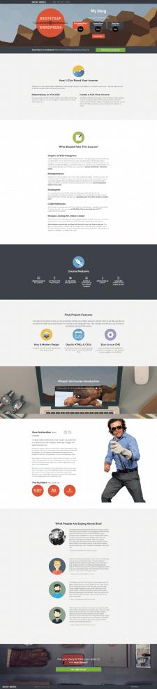 Wordpress Блог/Новостной сайт