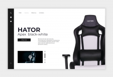 Hator Apex black-white