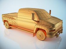 Лоу-поли модель Chevrolet Kodiak