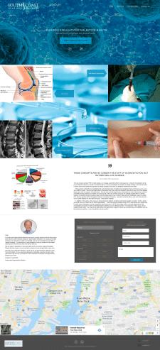 Landing page (medical)