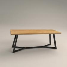 3D визуализация стола Зари