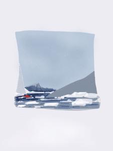 Вектор пейзаж