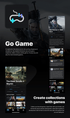 Go Game App Design